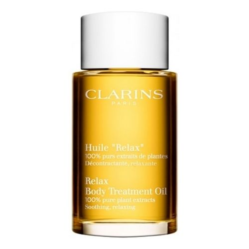 """Clarins and its anti-stress: Relaxing and Relaxing """"Relax"""" Oil"""