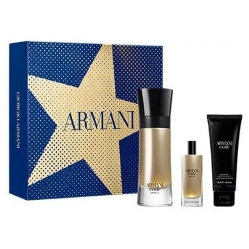 Armani Code Absolu box, the fragrance of charm signed Armani