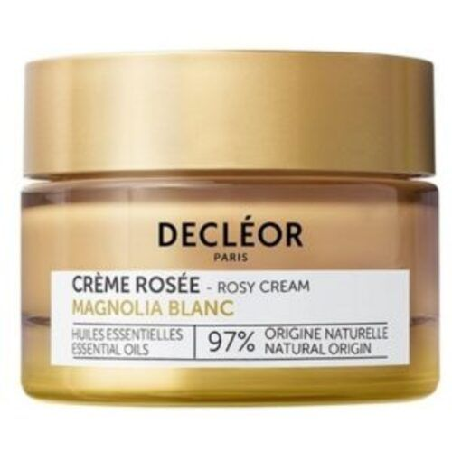 More beautiful and lastingly younger skin thanks to Decléor White Magnolia Rosé Cream