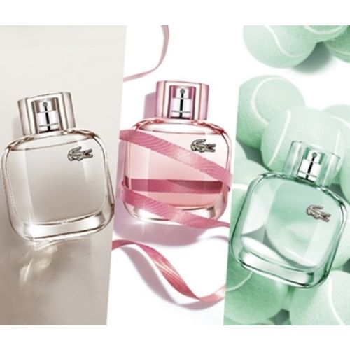 Eau de Lacoste perfumes for Elle Natural, Sparkling and Elegant