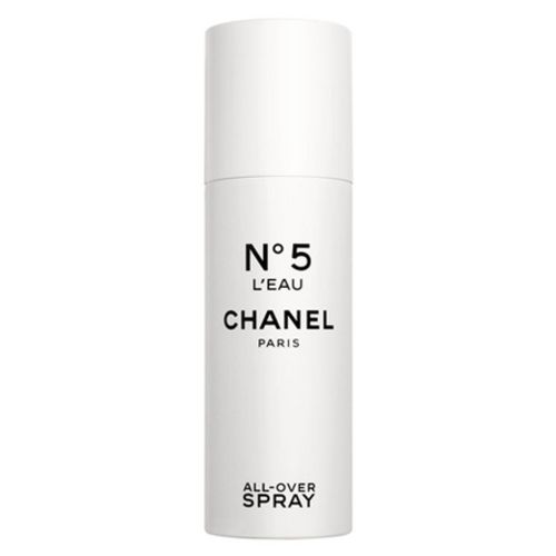 All-Over Spray N ° 5 L'Eau, the new way to perfume yourself from Chanel