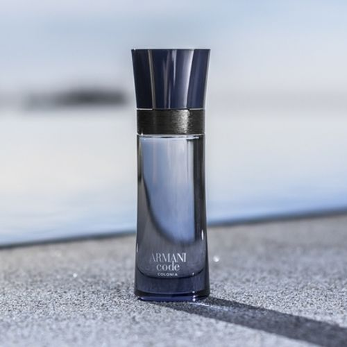 Code Colonia, the new charm of Armani